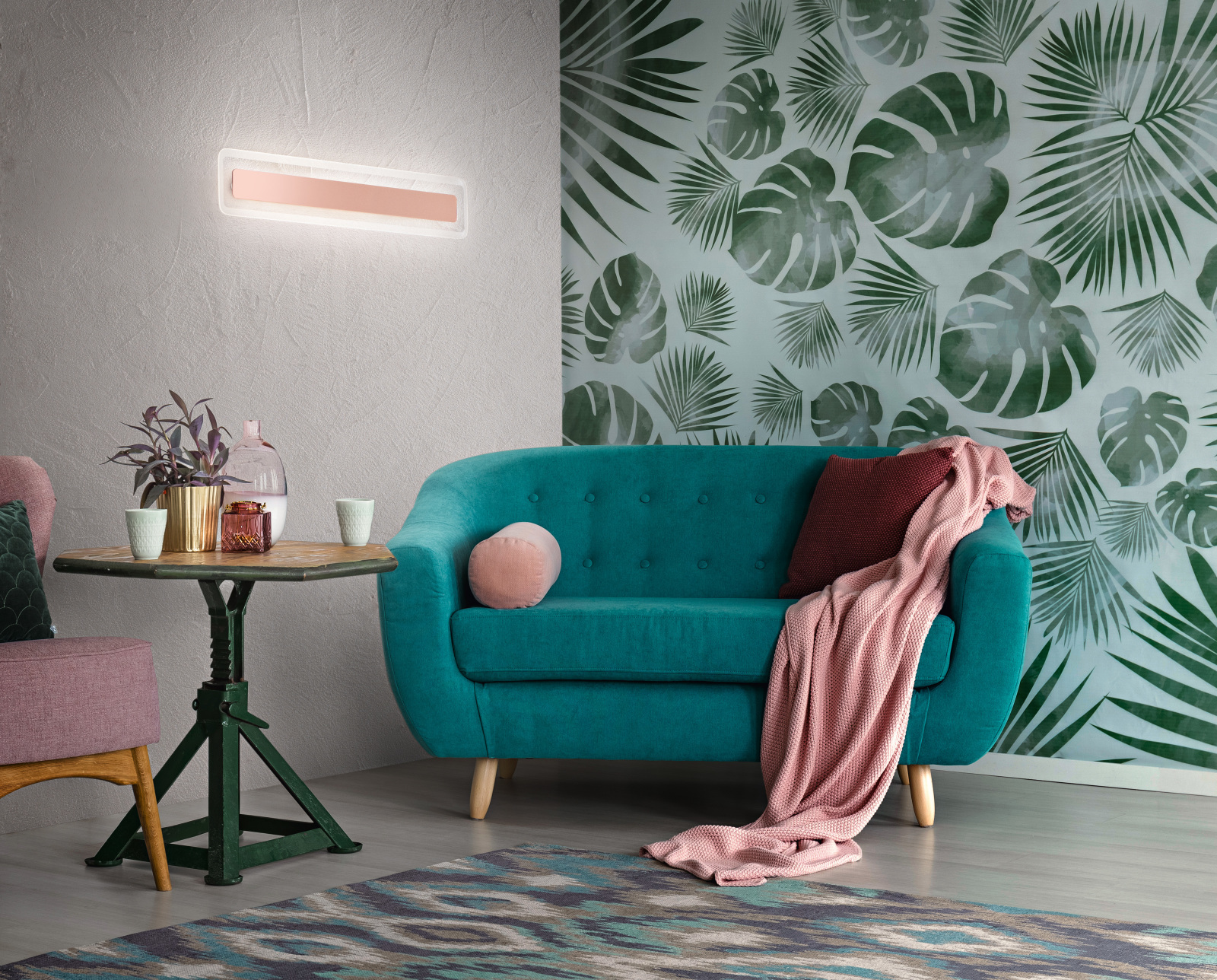 Applique, la luce adatta al soggiorno