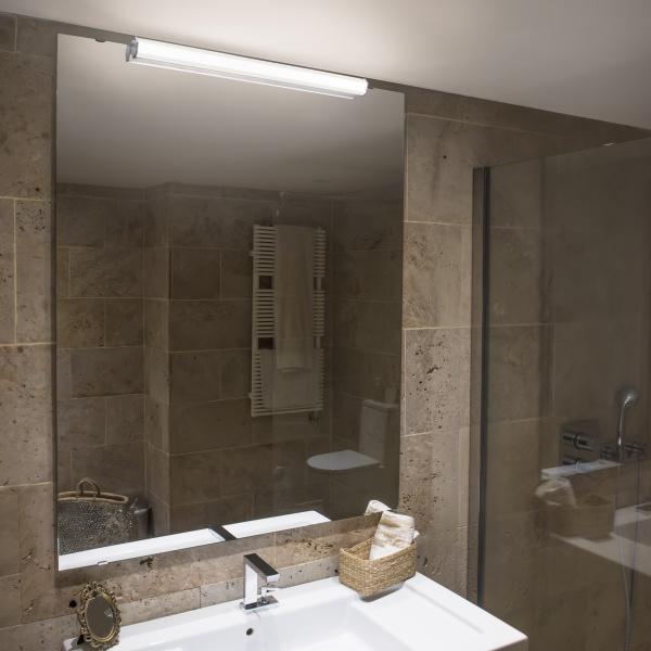 Luce giusta per il bagno