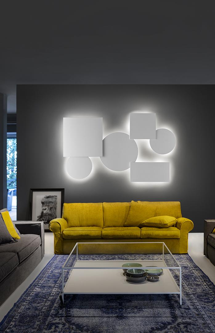 Scegliere il tipo di luce più adatta per il salotto