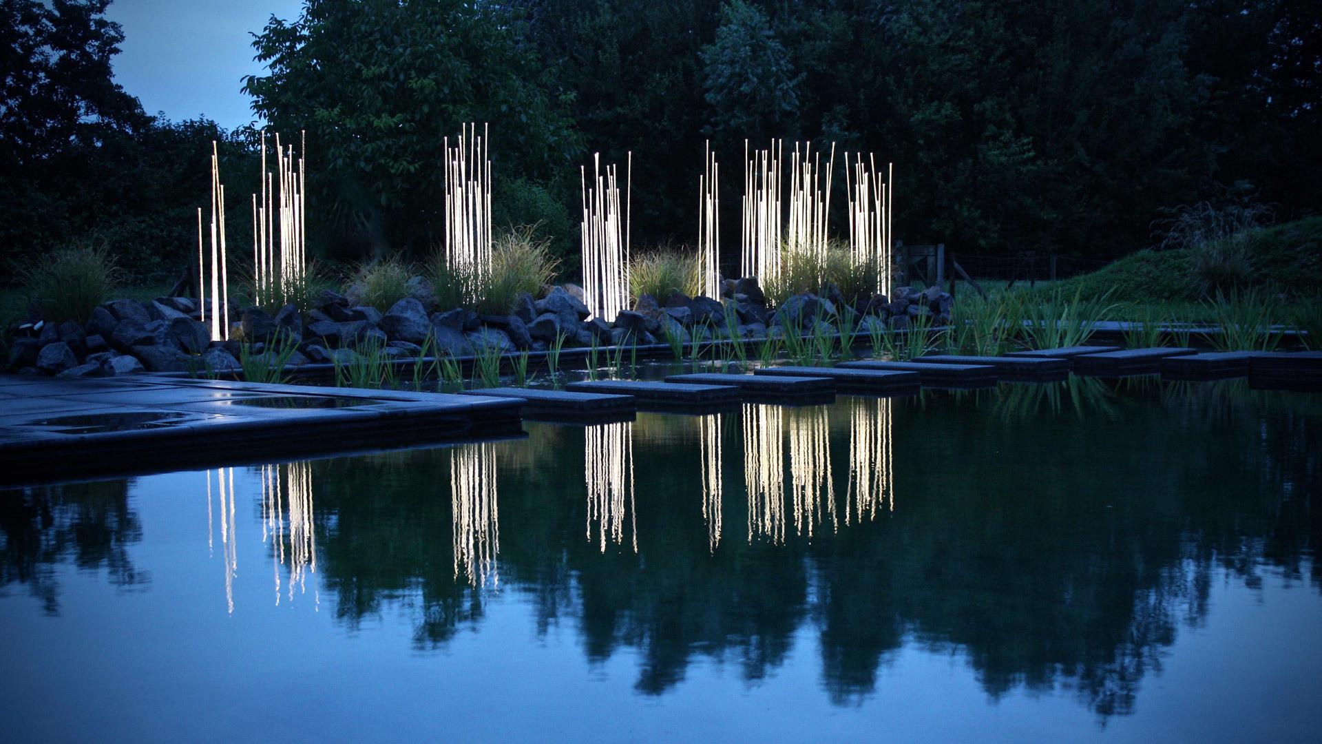 reeds lampade da giardino