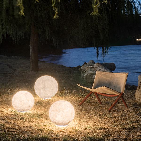Lampade da giardino sferiche