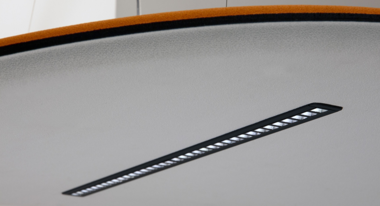 lampada fonoassorbente derby