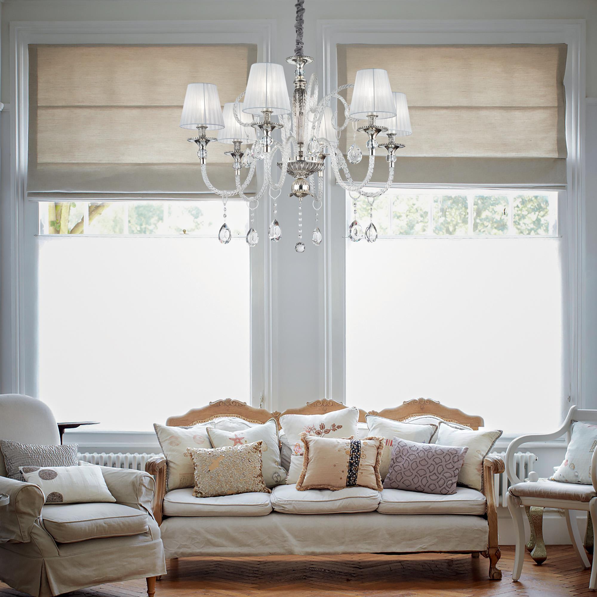 illuminazione domestica per salotto