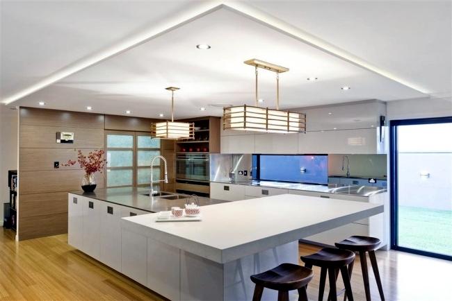 punti luce per la cucina