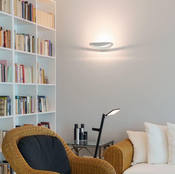 applique per illuminazione del soggiorno