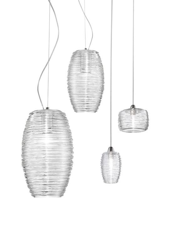 lampadari in vetro soffiato