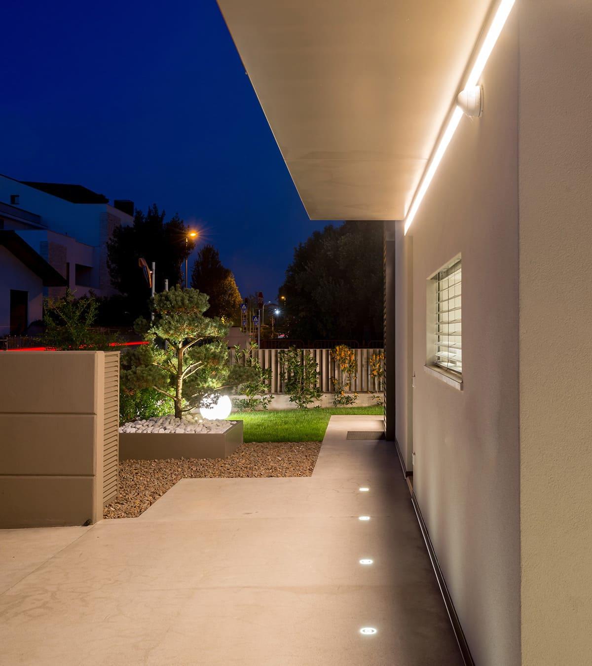 faretti per illuminazione giardino