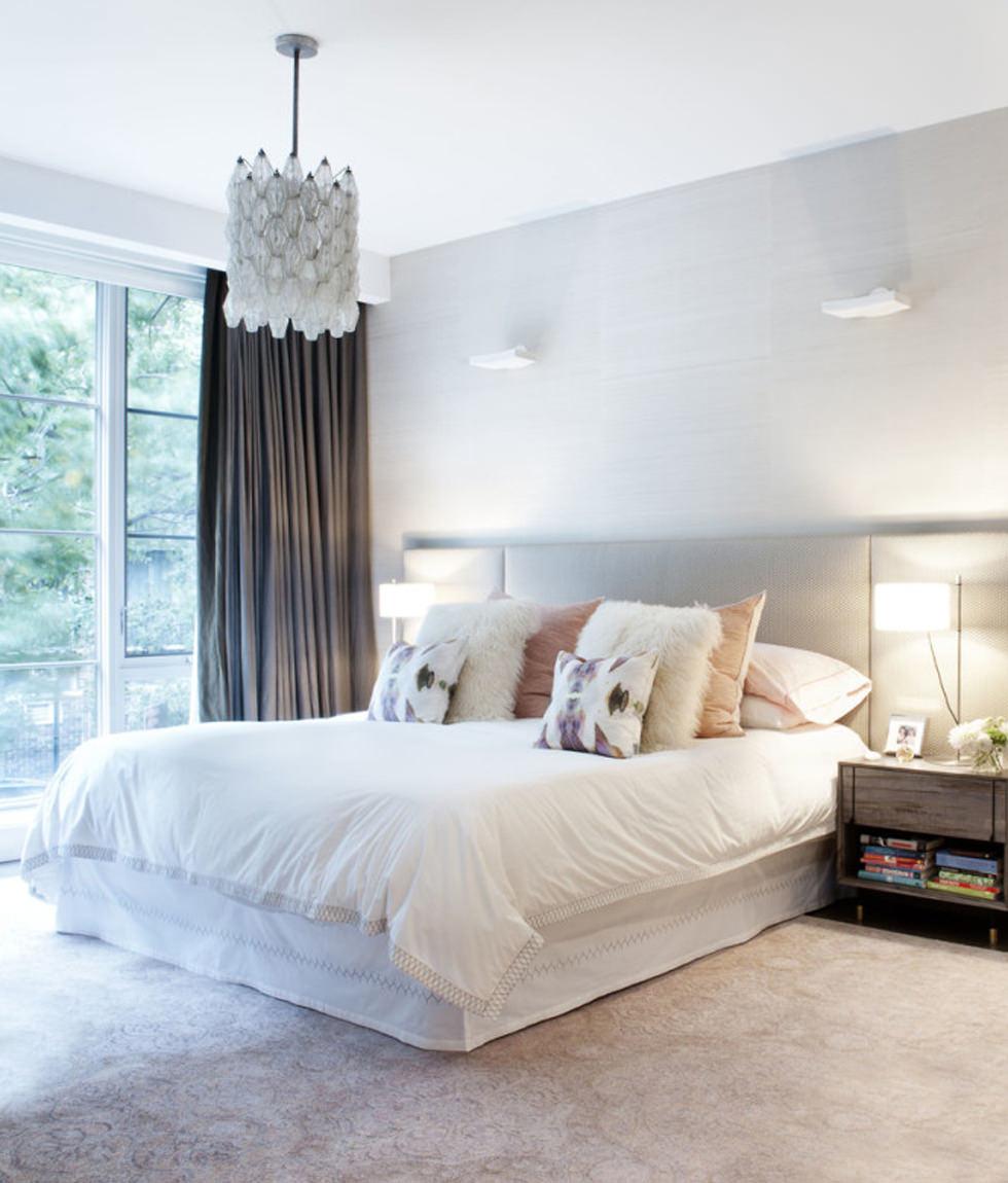 punti luce per la camera da letto