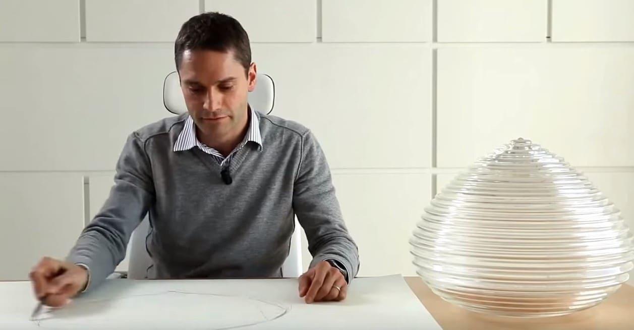 schizzi e disegni lampade