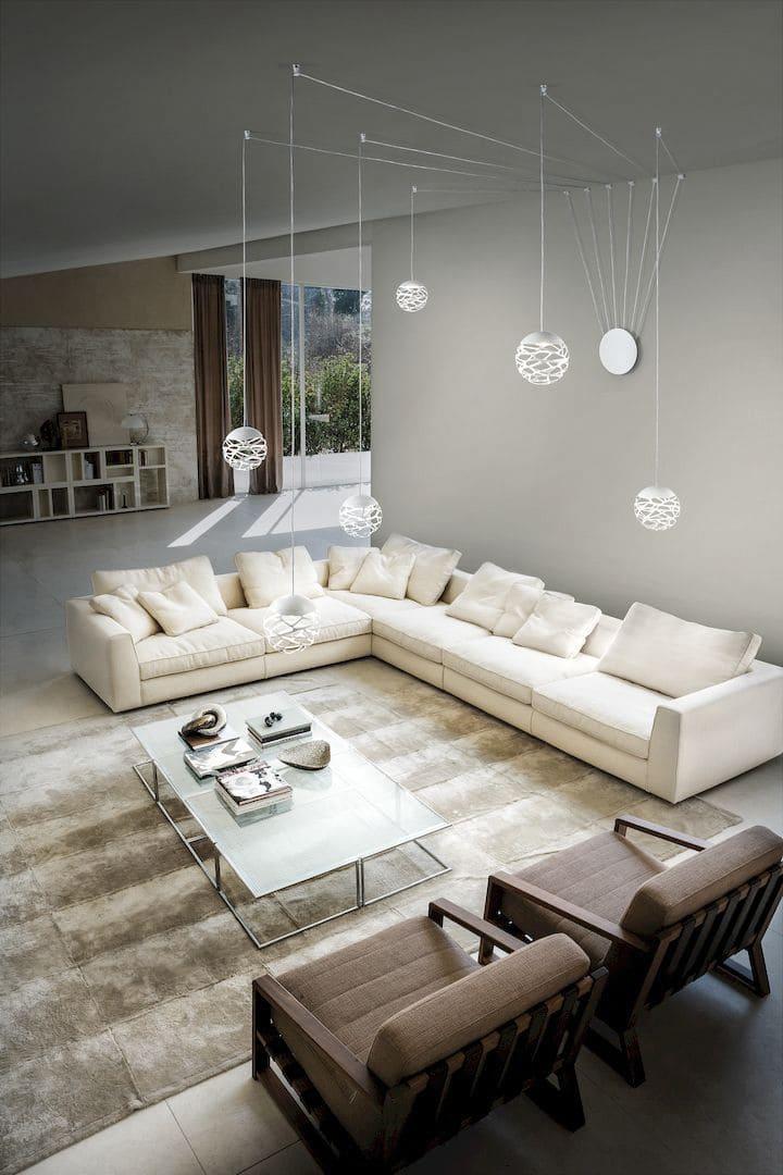 lampadari per il soggiorno
