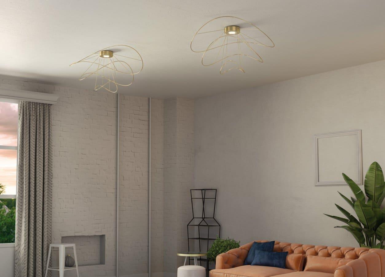 plafoniere per soggiorno