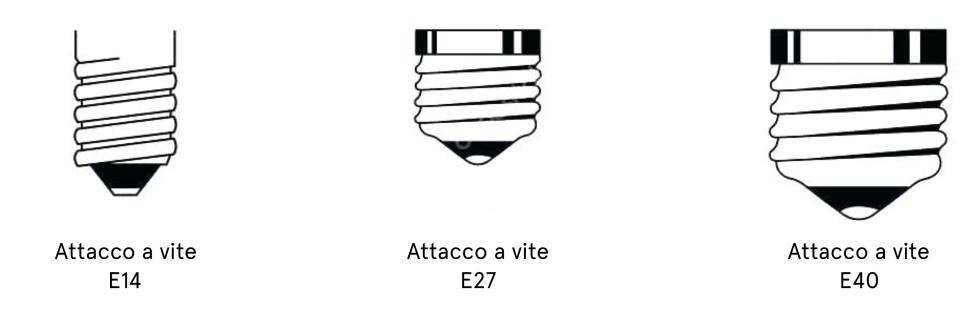 attacchi lampadine
