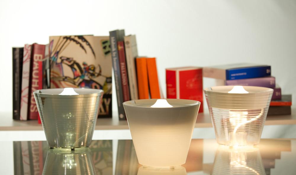 Multipo+ e Dina+ lampada da tavolo