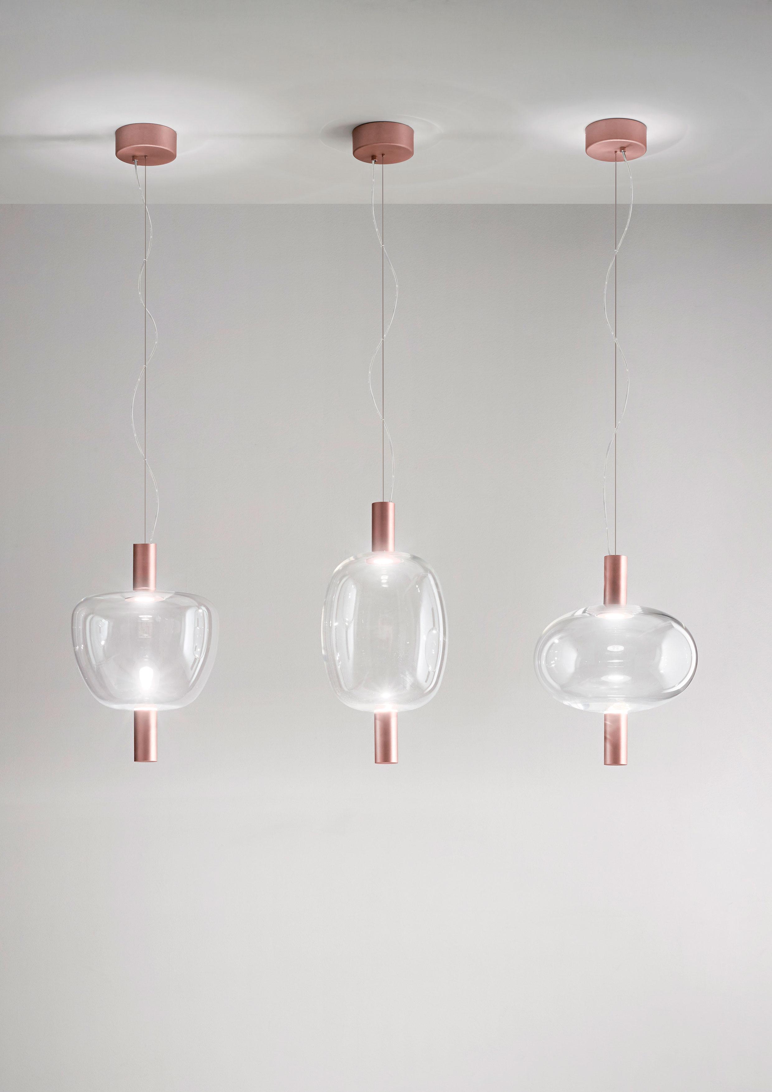 Riflesso lampadario moderno Vistosi