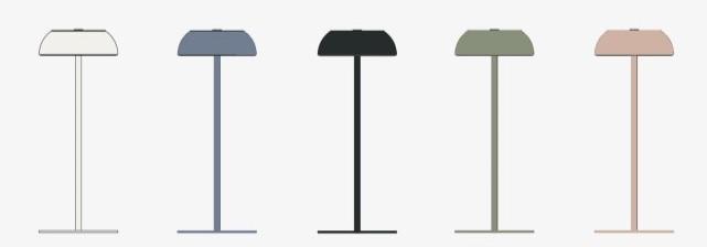 lampada Float finiture