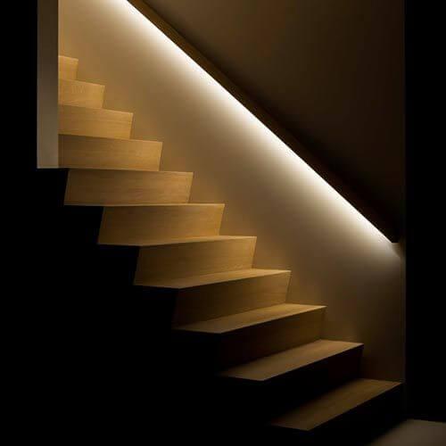 illuminazione passaggi interni